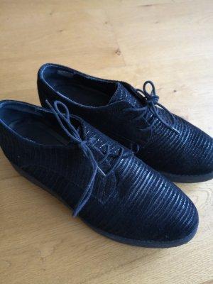 Cox Wedge Sneaker black