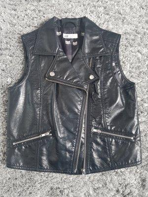 H&M Kamizelka typu biker czarny