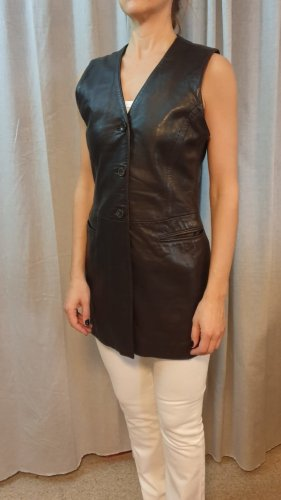 Lederweste Vintage braun - Boho Style