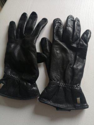 Roeckl Gants en cuir noir