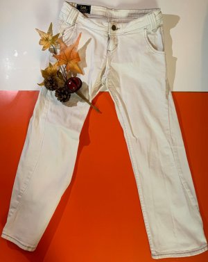 Lee Jeans a 3/4 bianco