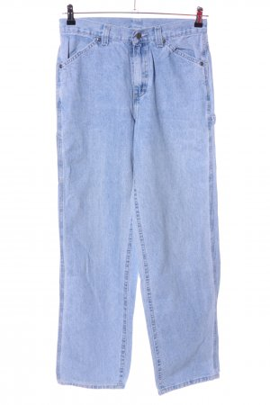 Lee Baggy jeans blauw casual uitstraling