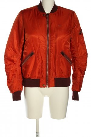 Lee Giacca bomber rosso stile casual