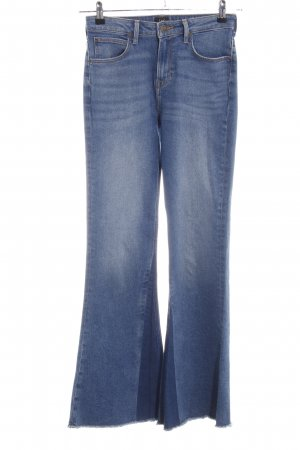 Lee Boot Cut Jeans blassblau-dunkelblau Jeans-Optik