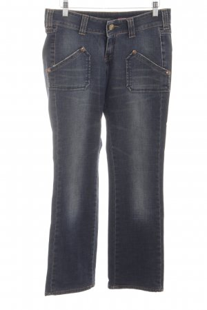Lee Boot Cut Jeans blau Casual-Look