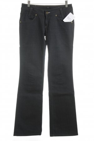 Lee Boot Cut Jeans dunkelblau Casual-Look