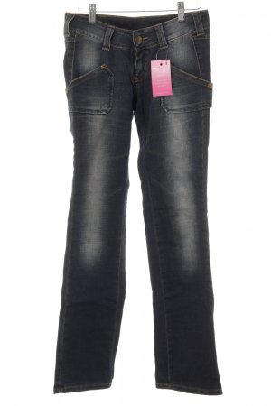 Lee Boot Cut Jeans graublau Jeans-Optik
