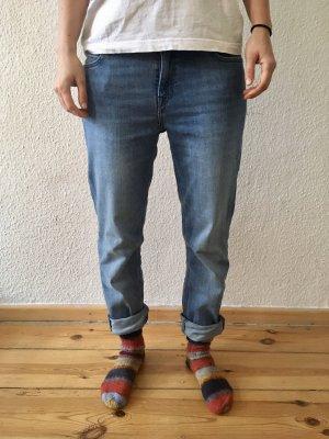 Lee Boyfriend Elly Slim Straight Denim Jeans, W28/L31