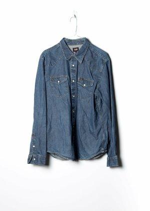 Lee Long Sleeve Shirt blue denim