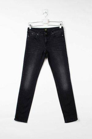 Lee Jeans taille haute noir jean