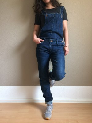 Lee Bib Denim blue cotton