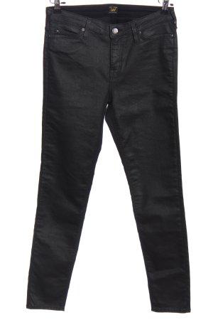 Lee Five-Pocket-Hose schwarz Casual-Look