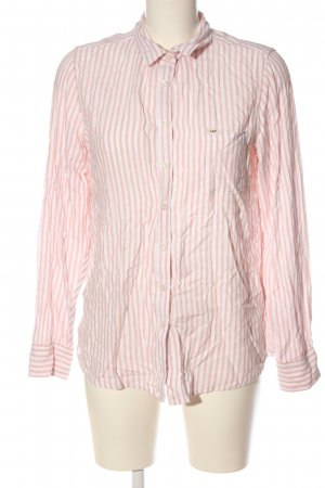 Lee Shirt Blouse white-nude striped pattern casual look
