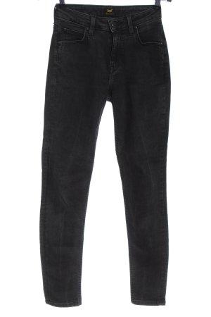 Lee High Waist Trousers black casual look