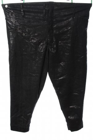 Lee High Waist Trousers black-silver-colored allover print casual look