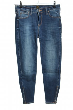 Lee High Waist Jeans blau Casual-Look