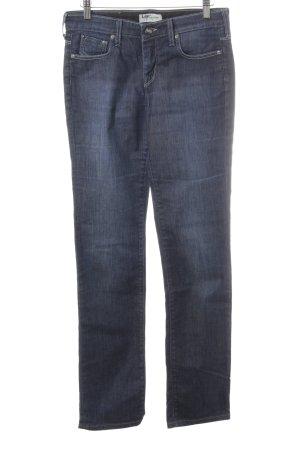 Lee Hoge taille jeans gestippeld Jeans-look