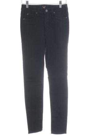 Lee High Waist Jeans schwarz Casual-Look