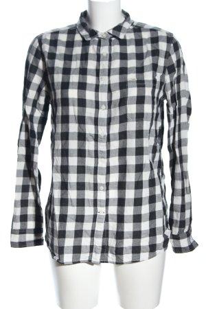 Lee Holzfällerhemd schwarz-weiß Karomuster Casual-Look