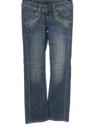 Lee Jeans taille basse bleu style décontracté