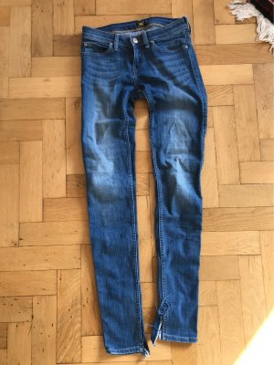 Lee Jeans taille basse bleuet