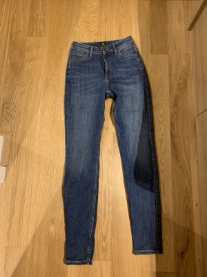 Lee Skinny Jeans dark blue