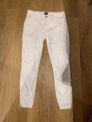 Lee 7/8 Length Jeans white