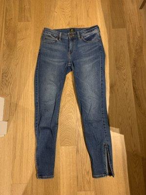 Lee 7/8 Length Jeans dark blue