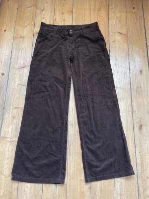 Lee jeans Corduroy broek donkerbruin