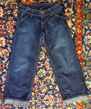 LEE Jeans (Damen), Gr. 29-33, stonewashed, Marlenehosenschnitt mit Stulpe, Hüftjeans
