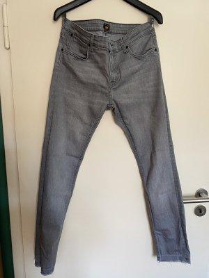 Lee Jeans Grau 31/32 Fransensaum