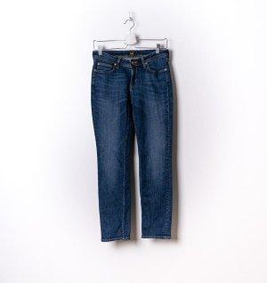 Lee Jeansy z prostymi nogawkami niebieski Denim