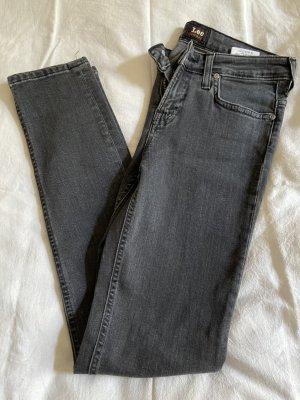 Lee Vaquero skinny gris antracita-gris oscuro Algodón