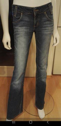 Lee Jeans flare bleu