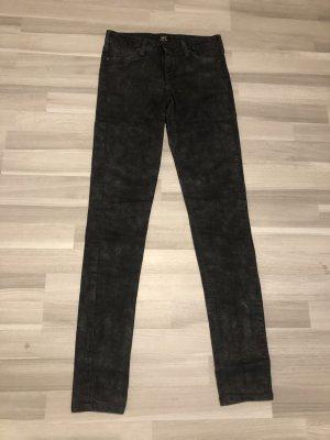 Lee Jeans mit glänzenden Stellen