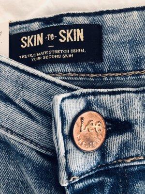 Lee Jeans Mod. Skin To Skin Schmal Super Skinny Slim Shaping 80er Gr. 28/33