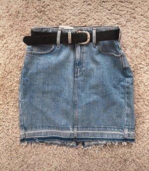 Lee Jupe en jeans bleu azur-bleu acier