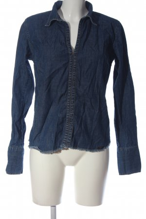 Lee Jeansbluse blau Casual-Look