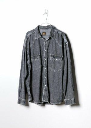 Lee Chemise à manches longues noir jean