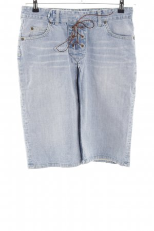Lee Jeansrock blau Casual-Look