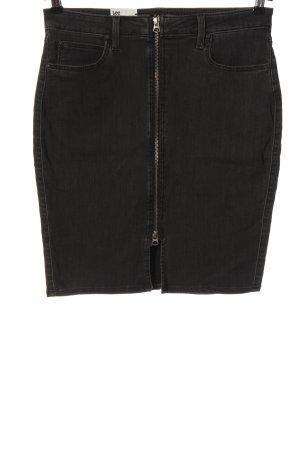 Lee Jeansowa spódnica czarny W stylu casual