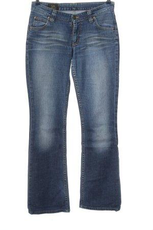 Lee Jeans flare bleu style décontracté