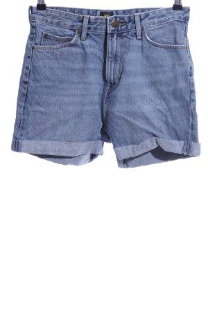 Lee Jeansshorts blau Casual-Look
