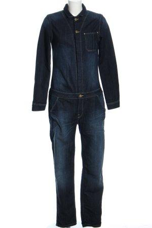 Lee Jumpsuit blau Casual-Look