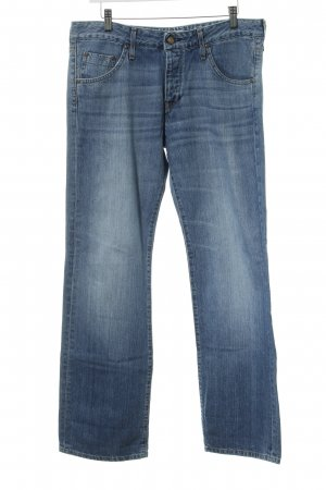 Lee Carrot Jeans cornflower blue business style