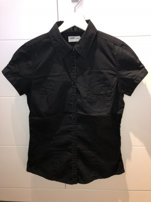 Lee Camisa de manga corta negro Algodón