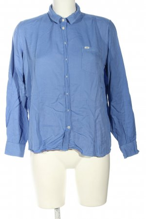 Lee Langarm-Bluse blau Business-Look