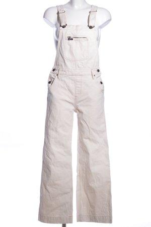 Lee Ogrodniczki biały W stylu casual