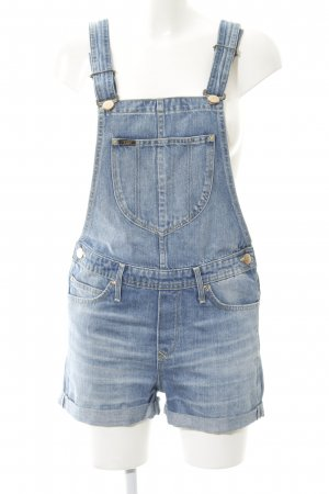 Lee Dungarees azure casual look