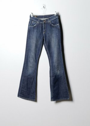 Lee Mom-Jeans blue denim